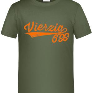 """Kids T-Shirt """"Vierzig699 Retro"""""""
